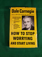 How to Stop Worrying and Start Living by Dale Carnegie (1961,Hardcover) #sf