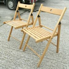 Ikea TERJE folding chair x 2 Job Lot Beige indoor/outdoor