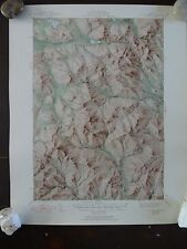 1950 - ANTIQUE Topographic Map of OLD SPECK MTN.QUADRANGLE - Maine