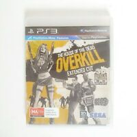 The House of the Dead Overkill Extended Cut - Sony Playstation 3 PS3 - Free Post