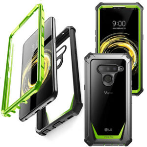 For LG V50 ThinQ Case,Poetic[ShockAbsorbing] ProtectionCover Green