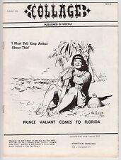 Collage #10, AL WILLIAMSON, HAL FOSTER, TARZAN, 1971, FINE Fanzine