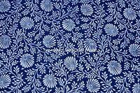 Indian Hand Block Print 100% Cotton Fabric Ladies Garments running material Blue