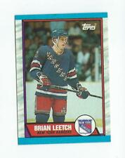 1989-90 Topps #136 Brian Leetch RC Rookie Rangers
