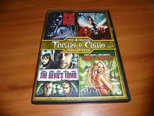 Zombie Strippers/Night Living Dead/Resident Evil/Devils Tomb (4-Disc DVD) Used