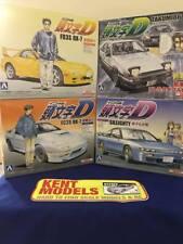 1; échelle 32 initial D Mega bundle * 4 X model kits * RX-7 FD + FC AE86 Sileighty