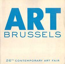 ART BRUSSELS BRUXELLES 2008 + PARIS POSTER GUIDE