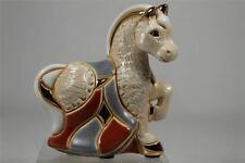 DeRosa Rinconada Family Figurine 'Baby White Horse'  Zodiac 2014 NEW #F365W NIB
