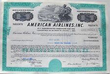 American Airlines, Inc debenture bond 1971 from $1,000 to 17,000 Delaware
