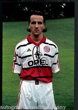 Jens Jeremies Super Großfoto 20x30 cm Bayern München Orig.Sign.+03