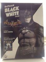 DC DIRECT BATMAN BLACK AND WHITE ARKHAM ASYLUM STATUE NEW Maquette Joker Bust