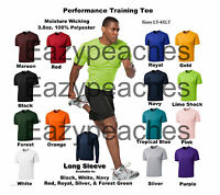 Peaches DRY ZONE Mens LT-4XLT TALL Competitor Moisture Wick Performance T-shirts