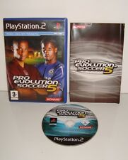 JEU SONY PLAYSTATION 2 PS2 PRO EVOLUTION SOCCER 5 COMPLET