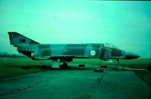 AIRCRAFT COLOUR SLIDE N186 XT853 RAF F4 PHANTOM OPERATED BY BAE on  KODACHROME