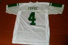 Brett Favre #4 New York Jets Reebok jersey size m FREE SHIPPING! White & green