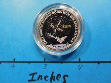 SPACE SHUTTLE ATLANTIS DOCK MIR SPACE STATION STS-71 NASA KENNEDY HALF DOLLAR #2