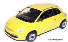 Bh096 Italiana-FIAT 500 popolare 2007-giallo scala 1/43 - Confezione di bolle NUOVO t48p