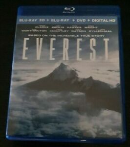 Everest Blu-ray 3D + Blu-ray + Dvd (3 Disc Set) (US Import)