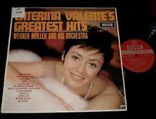 CATERINA VALENTE'S GREATEST HITS AUSSIE RED DECCA LP