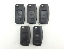 5 x Ford Fiesta, Focus, Galaxy, Etc. 3 Button Flip Key Fobs Job Lot - Tested