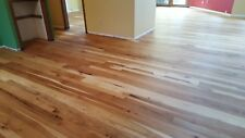 """100SF Solid Indiana Hickory Hardwood Flooring - 5"""" Wide - up to12ft lengths"""