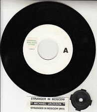 "MICHAEL JACKSON Stranger In Moscow 7"" 45 rpm record + juke box title strip RARE!"