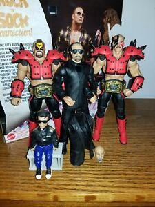 Wwe Mattel Elite Legion Of Doom Hawk Animal Series 30 Paul Ellering BAF LOD Rare