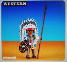 Playmobil # 6271,NATIVE AMERICAN INDIAN CHEIF,New in Package