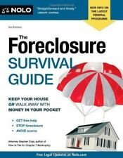 NOLO'S FORECLOSURE SURVIVAL GUIDE, 3rd ed.- ELIAS - LIKE NEW CONDITION