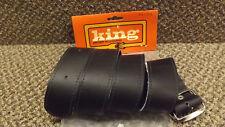 NEW PSE KING Archery Black Leather Belt for Quiver Large 42-48, 2611KS Vintage