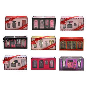 Victoria's Secret Perfume 4 Piece Gift Set Fragrance Lotion Edp Wash New Nwt