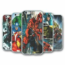 For iPhone 6 6S Silicone Case Cover Marvel Avengers Collection 4