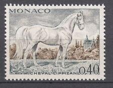 TIMBRE  MONACO NEUF N° 834 **  CHEVEAUX DE SANG CHEVAL LIPPIZAN