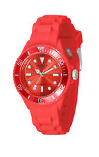 Madison New York L4167-11 MINI Rot Damen Junge Mädchen Uhr Silikon Unisexuhr