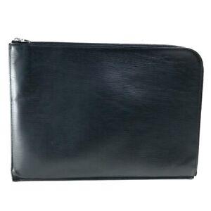 LOUIS VUITTON M64153 Epi Pochette Jules GM NM Clutch bag Hand Bag Leather Black