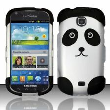 For Samsung Galaxy Stellar i200 Rubberized HARD Case Snap on Phone Cover Panda