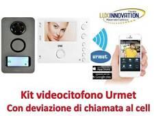 Kit videocitofono urmet con rinvio chiamata al cellulare videocitofono cellulare