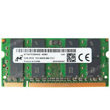Micron 2GB 4GB PC2-6400s DDR2 800mhz 200Pin CL6 1.8v SDRAM SODIMM Memory Module