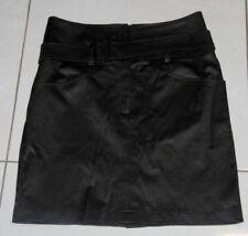 Womens size 8 black high waist stretcgt skirt made by SPORTSGIRL