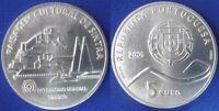 "PORTUGAL -  5 EUROS 2006 SILVER Gedenkmünzen "" UNESCO - PAISAGEM C. DE SINTRA """