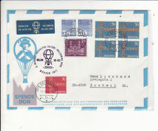 Aviation Swiss Stamps