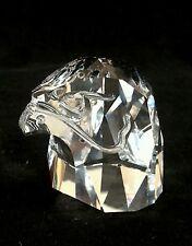 Swarovski crystal eagle head