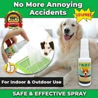 NEW SAFE DOG PUPPY TOILET TRAINING SPRAY PET POTTY PADS*HOT AID PEE CAT S6H5