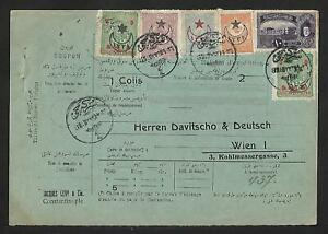 TURKEY TO AUSTRIA EXPEDITION COVER 1913
