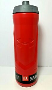 Under Armour by THERMOS 32 Oz Squeeze Bottle with Quick Shot Lid  Gym or Field