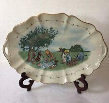 Classic Pooh The Splendiferous Picnic Platter Lenox Fine Ivory China Made In Usa
