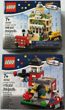 LEGO® 40182 Fire Station & 40183 Town Hall (Neu & OVP) Bricktober 2014 new rare