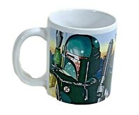 Star Wars coffee mug bounty hunters clone boba fett porcelain cup outer space