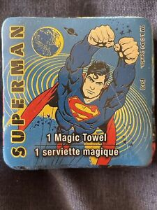 Two (2) Superman Magic Towel Superman Official DC Comics Warner Bros.