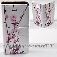 For Google Pixel Series Mobile Phone Cherry Blossom Print Flip Case Phone Cover